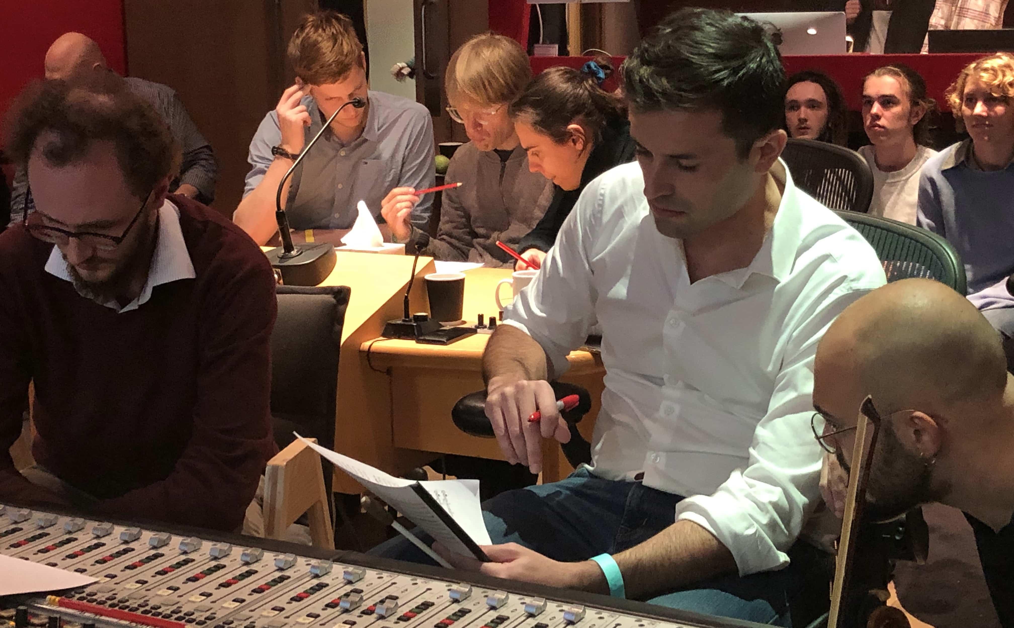 Kontrollraum des Abbey Road Studios One